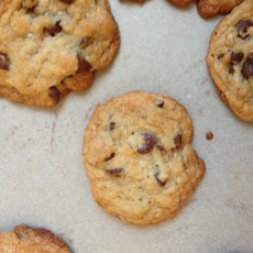 Bourbon & Sea Salt Chocolate Chip Cookies