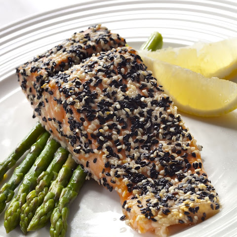 Sesame Seed-Crusted Salmon
