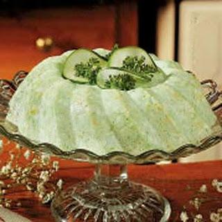 Cucumber Lime Gelatin Salad Recipes