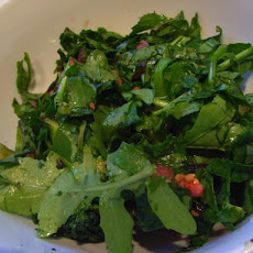 Salad Greens With Italian Dressing