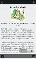 Screenshot of Historias Biblicas