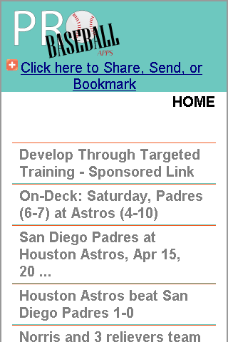 San Diego Pro Baseball news