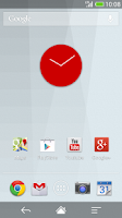 Screenshot of Flat design clock R -MeClock