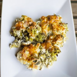 Creamy Broccoli Casserole with Cheddar