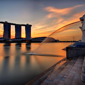 Merlion Park 2014 by Ken Goh - City,  Street & Park  City Parks