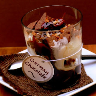 German Chocolate Cake Sundae