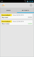 Screenshot of EuroJackpot