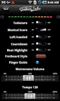 Screenshot of Pocket Jamz Guitar Tabs Lite