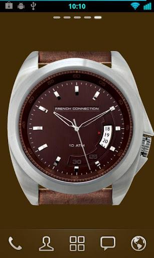 FCUK Desktop Watch