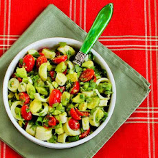 Heart of Palm Salad with Tomato, Avocado, and Lime (with or without Cilantro)