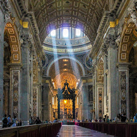 Vatican by Gregory Ruderman - Buildings & Architecture Places of Worship ( vatican city, church, rome, basillica, cathedral, vatican, pope,  )