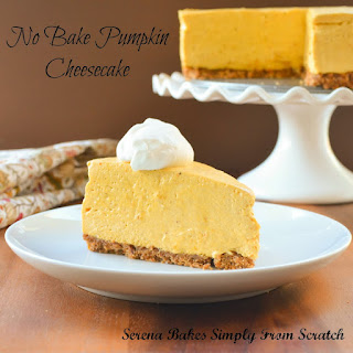 No Bake Pumpkin Cheesecake With Toasted Pecan Graham Cracker Crust