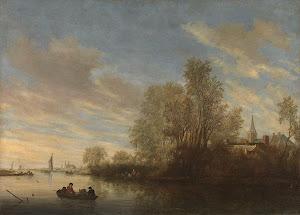 RIJKS: Salomon van Ruysdael: painting 1645