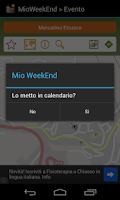 Screenshot of Mio Week-end