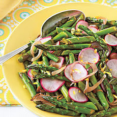 Asparagus and Radish Sauté