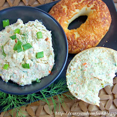 Vegetable Cream Cheese Spread