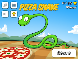 Screenshot of Pizza Snake Pro