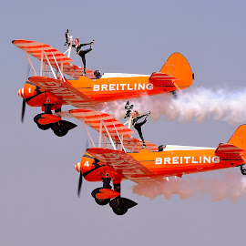 Breitling Air Show @ Aero India 2015 by Navaneetha Raj - Transportation Airplanes ( 2015, breitling, stunt, photography, airshow,  )
