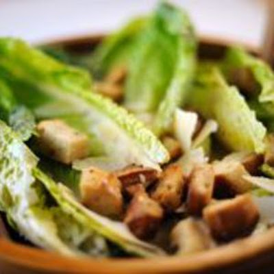 Romaine Hearts with Parmesan and Lemon Vinaigrette