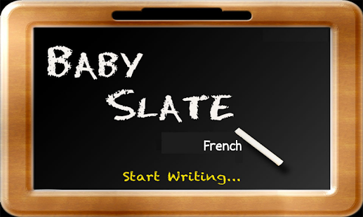 Baby Slate - French - screenshot