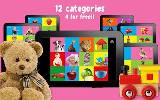 Screenshot of 100 words for Babies & Toddler