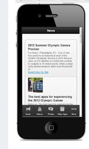 【免費運動App】2012 London News Line-APP點子