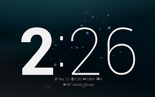 Screenshot of Dock Clock Plus (Night/Desk)