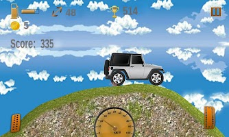 Screenshot of Hill Climb Race 2014 Car bike