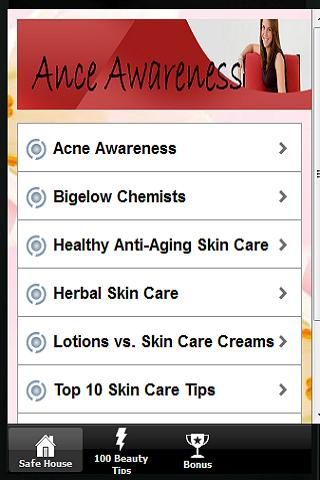 【免費教育App】Acne Awareness Education-APP點子