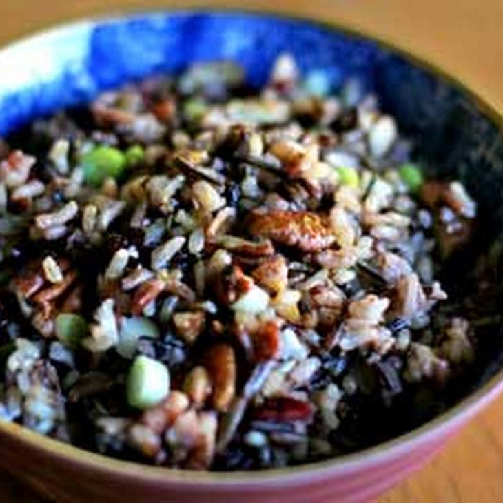 Wild Rice Cranberry Pecan Salad