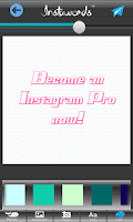 Screenshot of Instawords Free - Text On Pics