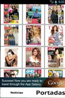 Screenshot of Revistas