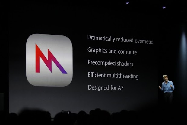Apple unveils their new games-oriented iOS graphics tech Metal
