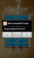 Screenshot of Water Tracker