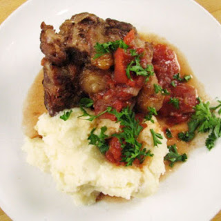 Red Wine and Tomato Braised Oxtails