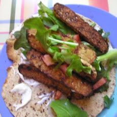 Greek Tempeh Pitas
