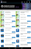 Screenshot of AAO eBooks