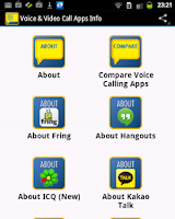 Screenshot of Voice Call & Video Call Apps
