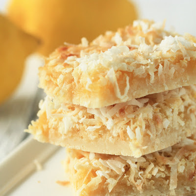Lemon Coconut Bars