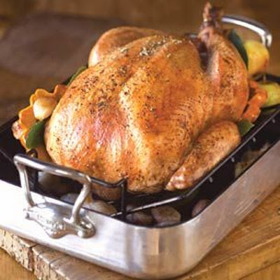 Roasted Turkey with Brown Sugar Brine