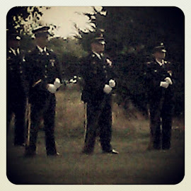 Services for PFC Clint Pierson, 9/25/12. R.I.P.. young man. May God bless your family, friends and your adorable little girl. http://instagr.am/p/QBaNavxEk5/ by Chrissy Rayl - Instagram & Mobile Android