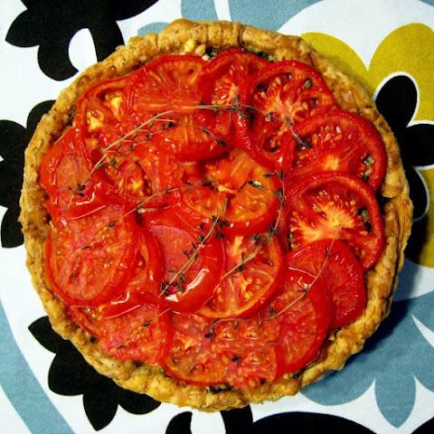 Simple Tomato Tart Recept | Yummly