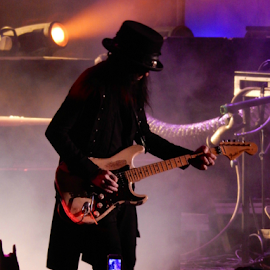 Mick Mars by Deborah Russenberger - People Musicians & Entertainers ( music, rock )