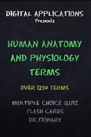HUMAN ANATOMY PHYSIOLOGY Quiz