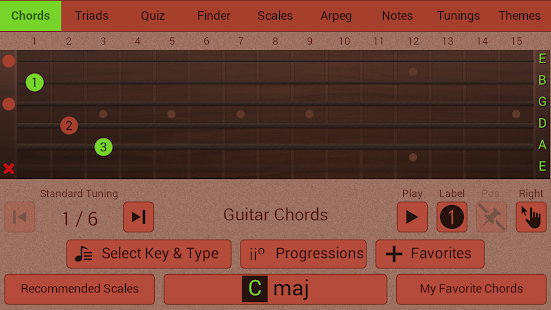 Guitarist's Reference - screenshot