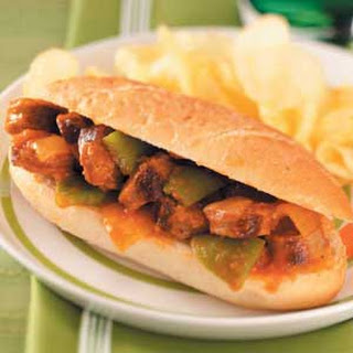 Sausage Pepper Sandwiches