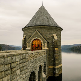 Western Massachusetts Reservoir by Jason McGorty - Buildings & Architecture Other Exteriors