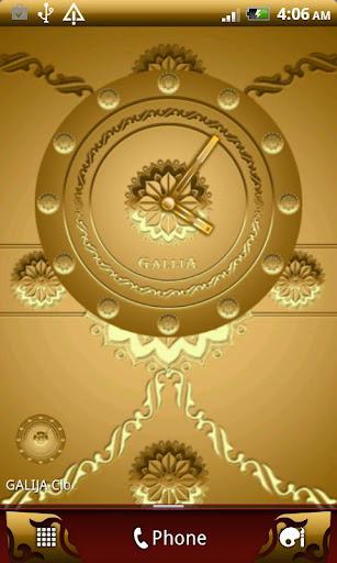 GALIJA Clock Widget