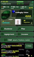 Screenshot of run Rugby Manager