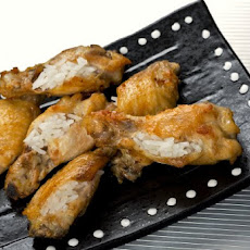 Singaporean Chicken Rice Wings